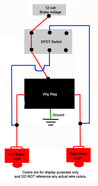 led flasher wiring diagram floydweb.com - brake modulator install